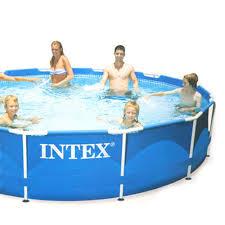 Купить 359-345 <b>КАРКАСНЫЙ БАССЕЙН INTEX 28210</b> METAL ...