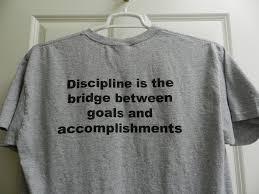 tee shirt discipline is bridge between goals accomplishment the tee shirt discipline is bridge between goals accomplishment