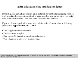 at amp t  s associate application letterat amp t  s associate application letter in this file  you can ref application letter materials for