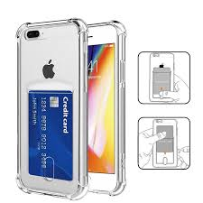 Jual Soft Cover iPhone Series <b>Airbag Anti-drop</b> Card Slot Phone Case