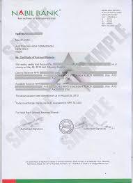 bank balance certificate kiec bank balance certificate