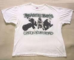 <b>Beastie Boys</b> Black T-shirt <b>Check</b> Your Head Tee Old School Hip ...