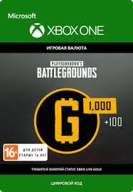 <b>PlayerUnknown's Battlegrounds</b>: 1100 G-Coin [Xbox One ...