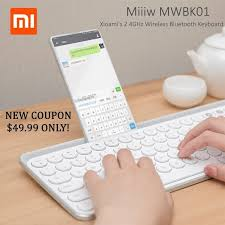 Check out the <b>Miiiw MWBK01 2.4GHz Wireless</b> Bluetooth Keyboard ...