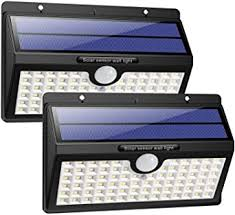 <b>Solar</b> Lights <b>Outdoor</b>, HETP Upgraded 78 <b>LED Solar Motion Sensor</b> ...
