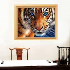 new tiger diy 5d diamond