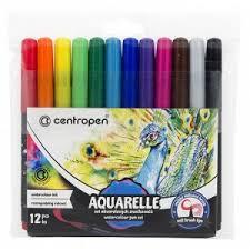 """<b>Набор</b> акварельных маркеров <b>Centropen</b> """"Aquarelle 8683"""" 12цв ..."""
