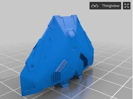 Cobra mkiii ship from <b>elite dangerous</b> by Durham 3D <b>Printing</b>
