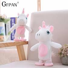 2018 Hot Sale 25/35cm Funny Unicorn Walking& Talking Stuffed ...