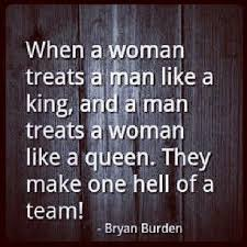 Treated like a king and queen. | Truth! | Pinterest | Treats, So ... via Relatably.com