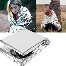 <b>1pc Outdoor Emergency</b> Blanket First Aid Rescue Survival Kit ...