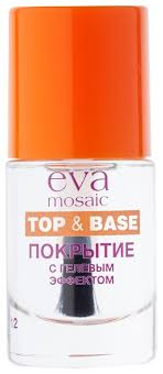 <b>Eva Mosaic</b> верхнее <b>покрытие</b> с гелевым эффектом 12 мл ...