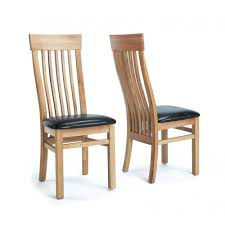 dining chair hbn highbackdiningchair: home sherwood oak slat back chair with brown seat