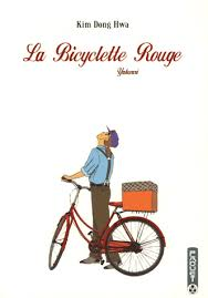 LA BICYCLETTE ROUGE (4 tomes) (couverture)