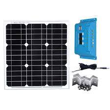 <b>Solar Panel</b> Kit <b>12v 40w</b> Cargador Solar Charge Controller <b>12v</b>/24v ...