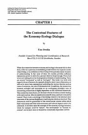linking the natural environment and the economy essays from the linking the natural environment and the economy essays from the eco eco group