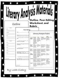 the ojays paragraph and the five on pinterest these materials will help you implement a literary analysis essay with your students in the