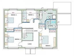 More Bedroom d Floor Plans  ClipgooArchitecture Free Floor Plan Software With Open To Above Living Dining Room Home Plans Design House