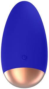 Синий вибратор <b>Chic</b> для <b>клиторальной стимуляции</b>