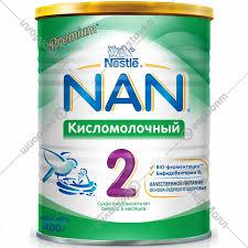<b>Смесь сухая</b> «<b>NAN</b>-2» <b>кисломолочная</b>, с 6 месяцев, 400 г ...