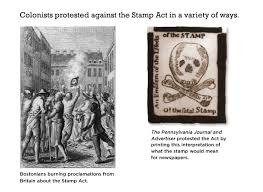 digital tech coach social studies colonists dislike the stamp act