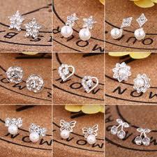Korean style elegant earrings simple fashion creative hipster ... - Vova