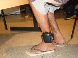 Resultado de imagem para tornozeleira de presos