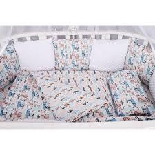 <b>Комплект</b> постельного белья <b>AmaroBaby</b> Ламы в <b>кроватку</b>, бязь ...