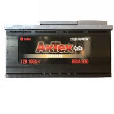 <b>AKTEX</b> Аккумулятор <b>АКТЕХ</b> STANDARТ 100 А/ч EN 850 ОП ...