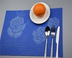 placemat pvc dining table mat disc