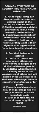 best ideas about symptoms of a sociopath common symptoms of sociopathic personality disorder 1 pathological lying can often pass a lie