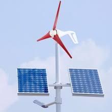 100W Wind Generator Power mill 3-Blade Nylon Fiber Wind-Mill NE ...