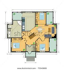 Vector house plans   vector       files  for    Vector house plans   vector       files  for commercial use  format  ai  eps  cdr  svg vector illustration graphic art design