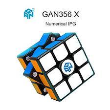OJIN Ganspuzzle <b>GAN356 X</b> Numerical IPG Speed Cube 3x3 Gan ...