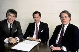 stephen a schwarzman academy of achievement 1985 stephen schwarzman sits between roger altman and francois de saint phalle all made