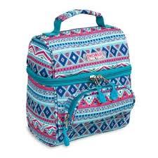 Shop J World New York Corey Lunch Bag - Mint <b>Tribal</b> - <b>Free</b> ...