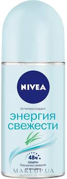 <b>Nivea</b> Energy <b>Fresh</b> Deodorant Roll-On - <b>Дезодорант</b> шариковый ...