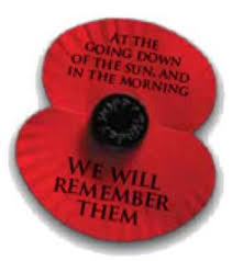 Image result for we will remember them poppy