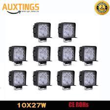 <b>4 Inch 27W Square</b> LED Work Light 12V 24V Led Work Lamp For ...