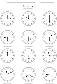 what time is it worksheetdaylight savings time march 2014