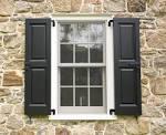 Outdoor window shutters