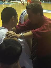 chacee mojica chabmojica twitter manilacone gives japethaguilar35 a one last word before he sent him in in the crucial seconds you can do this boypic com wrfnxxhscv