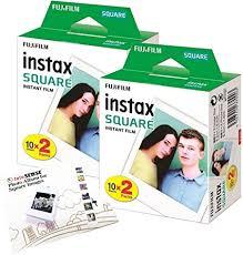 <b>Fujifilm</b> Instax <b>SQUARE Film</b> Bundle Pack + FREE Wall: Amazon.co ...