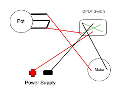 spdt switch wiring diagram spdt image wiring diagram how to wire a dpdt rocker switch for reversing polarity 5 steps on spdt switch wiring