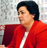 Margarita Delgado durante la presentación del estudio (José Huesca | EFE) - 1089129134_3