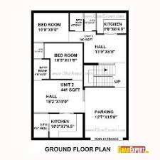east facing site house planning   GharExpert comHouse Plan for Feet by Feet plot  Plot Size Square Yards