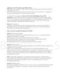 job recruitment and selection plan