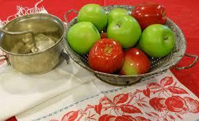 strainer kitchen enamelware prev red hen also owns her aunt jeannettes enamelware double boiler sadly w