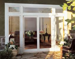 french doors closed traditional
