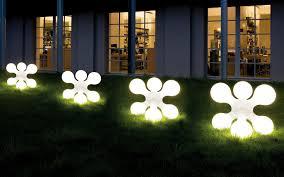 ideas emphasizing awesome modern landscape lighting design ideas bringing